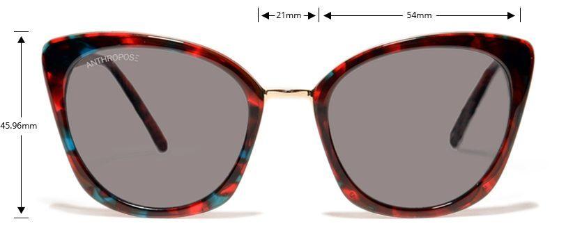 Parijat-cat-eyed-sunglasses-best-selling-eyewear-100%-polarized-coral-tortoise