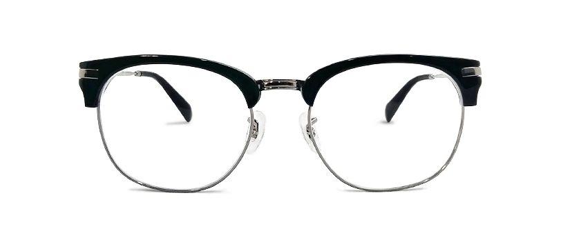 rayban-clubmaster-shaped-classic-black-half-frame-power-glasses-prescription-eyewear-high-quality